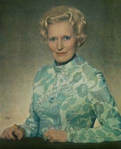 Målning med Ingrid Gärde-Widemar